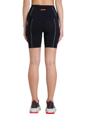 HERON PRESTON Biker Shorts With Reflective Piping
