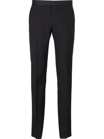 Tagliatore Virgin Wool And Mohair Trousers