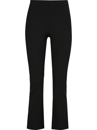 Vince Cropped Flared Trousers