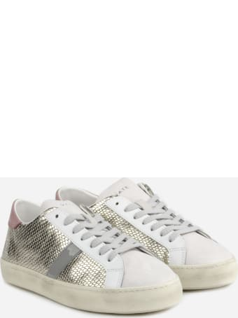 D.A.T.E. Hill Sneakers With Upper In Scaled Effect Laminated Leather