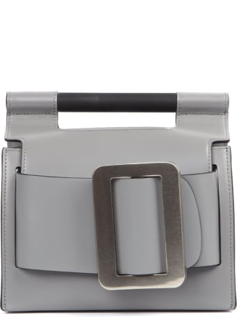 BOYY Grey Leather Romeo Bag