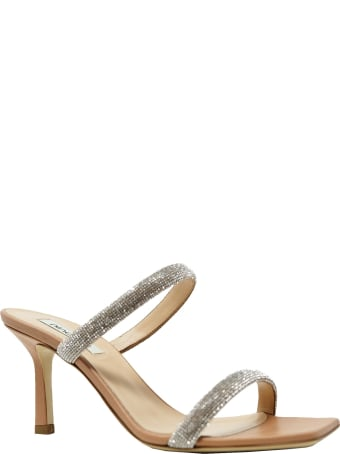 Ninalilou Nude Leather Sandals