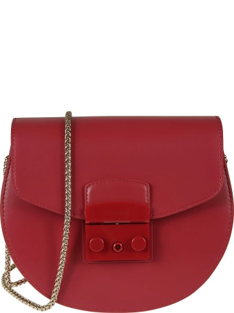 Furla Metropolis Round Mini Crossbody Bag