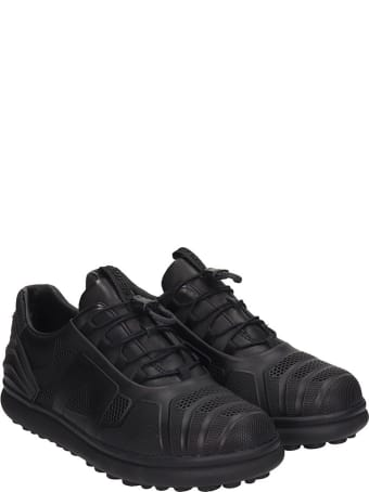 Camper Pelotas Sneakers In Black Rubber/plasic