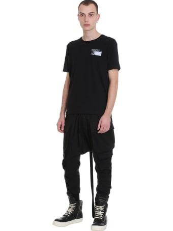 Ben Taverniti Unravel Project T-shirt In Black Cotton