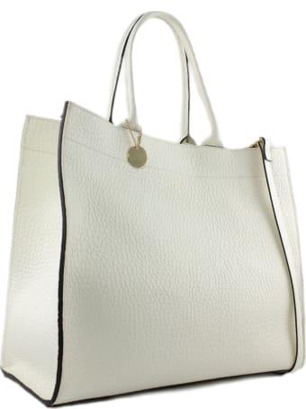 Avenue 67 Irene Shopper In White Leather