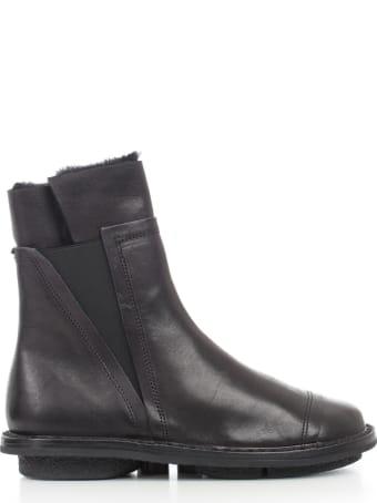 Trippen Ankle Boots W/fur