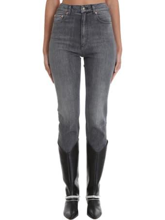 Magda Butrym Jeans In Black Denim