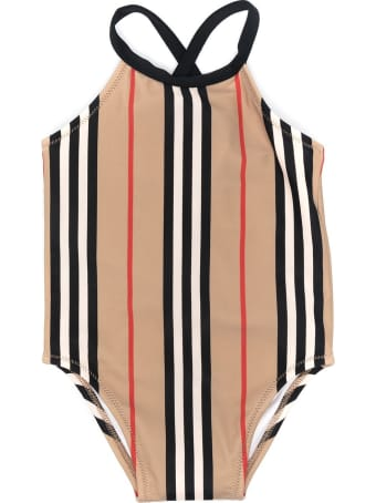 Burberry Crina Icon Stripe Swimsuit