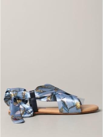 Hilfiger Denim Hilfiger Collection Flat Sandals Shoes Women Tommy Hilfiger
