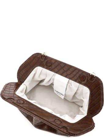 THEMOIRè Bios Croco Vegan Leather Clutch