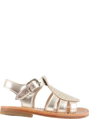 Gallucci Platinum Sandales For Girl