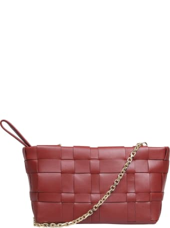 3.1 Phillip Lim Phillip Lim Odita Bag In Burgundy Braided Leather