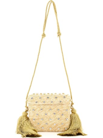 Le Niné Carol Basket Bag Bx-00030 Crystal Natural