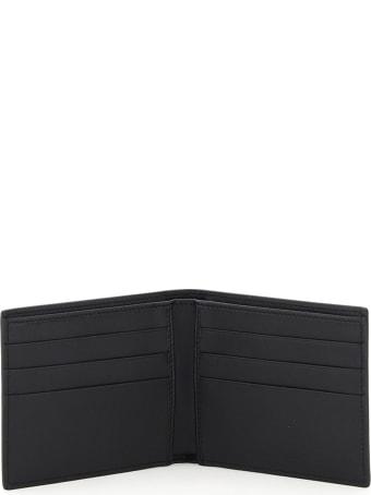 Dolce & Gabbana Logo Print Leather Bifold Wallet