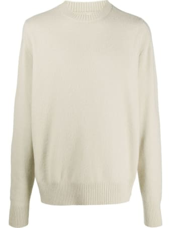 OAMC White Wool Blend Jumper