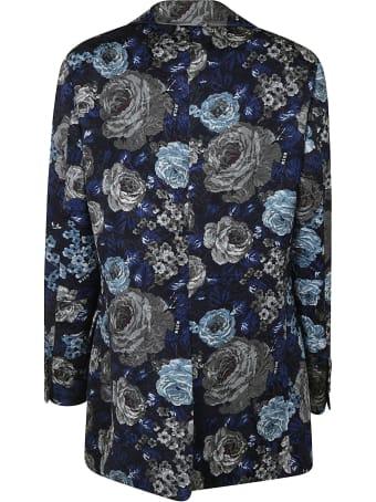 MSGM Floral Print Blazer
