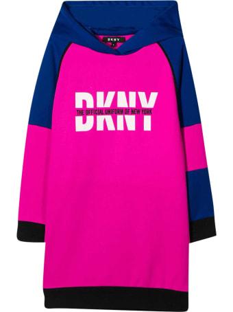 DKNY Fuchsia Dress