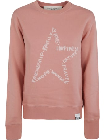 Golden Goose Athena Crewneck Star Values Sweatshirt