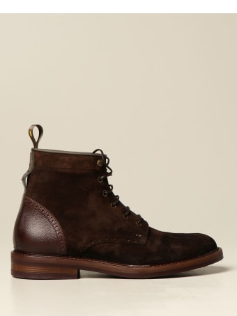 Brimarts Boots Brimarts Ankle Boot In Suede