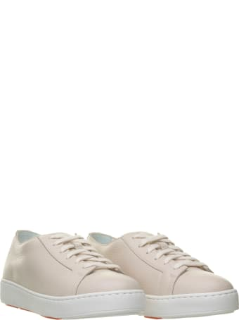Santoni Santoni Club Ivory Sneakers