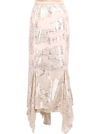 Max Mara 'aquila' Silk Skirt