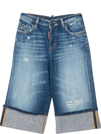 Dsquared2 Cropped Jeans Teen