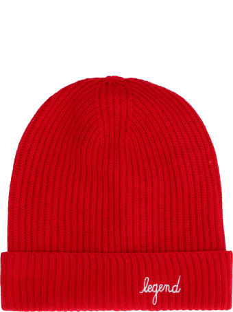 Maison Labiche Legend Ribbed Knit Beanie