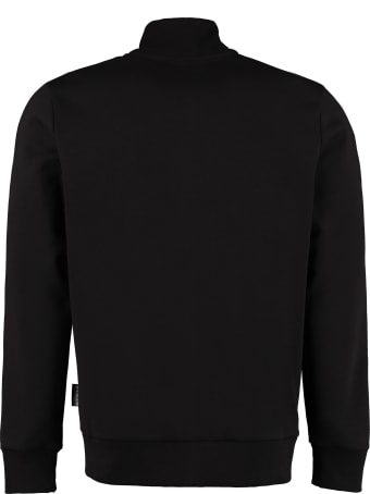 Philipp Plein Hexagon Side Logo Bands Sweatshirt