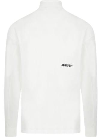 AMBUSH White Cotton Jumper