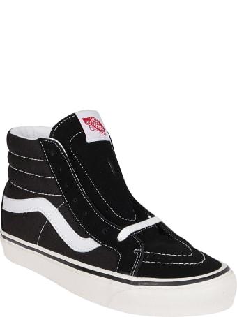 Vans Black Suede Anaheim Factory Sneakers