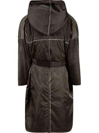 Kimonorain Belted Waist Zip Jacket