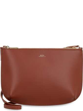 A.P.C. Sarah Leather Crossbody Bag