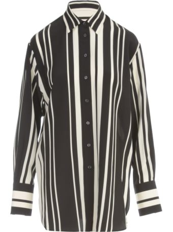 Joseph Brooks Silk Stripes Shirt