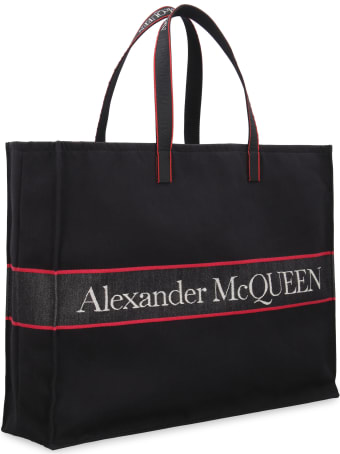 Alexander McQueen Canvas Tote Bag