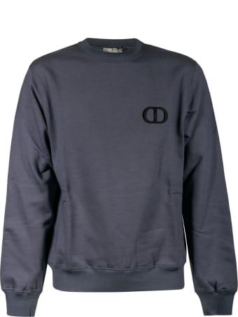 Christian Dior Logo Embroidered Sweatshirt