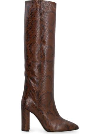 Paris Texas Leather Knee-boots