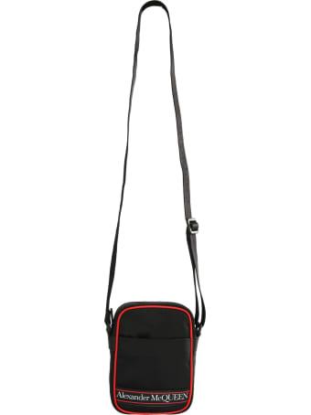 Alexander McQueen Logo-print Messenger Bag