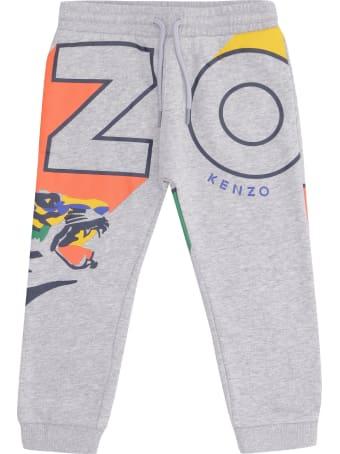 Kenzo Kids Stretch Cotton Track-pants