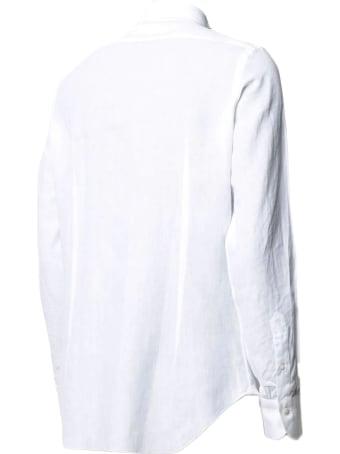 Finamore White Linen Shirt