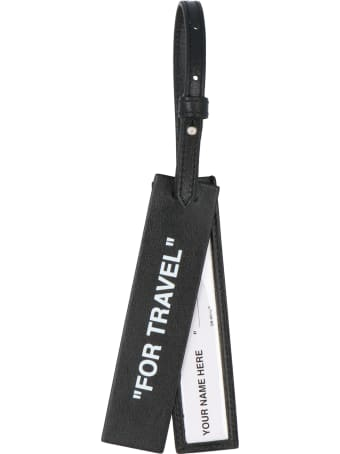 Off-White 'quote' Luggage Tag