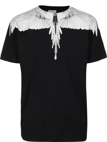 Marcelo Burlon Black Cotton T-shirt