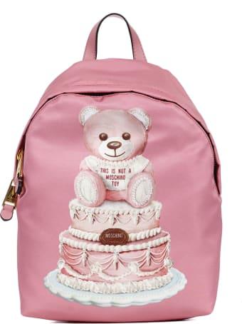 Moschino Cake Teddy Bear Backpack