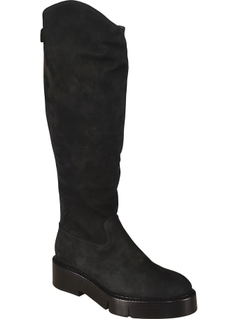 Clergerie Nubuck Over-the-knee Boots