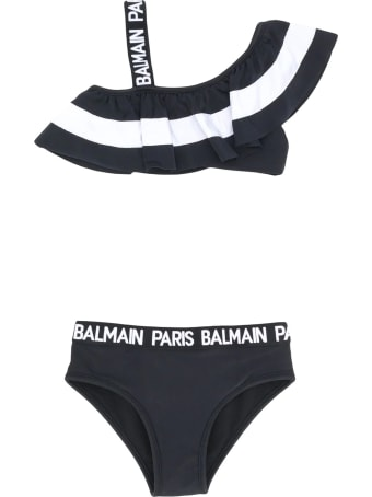 Balmain Bikini With Ruches