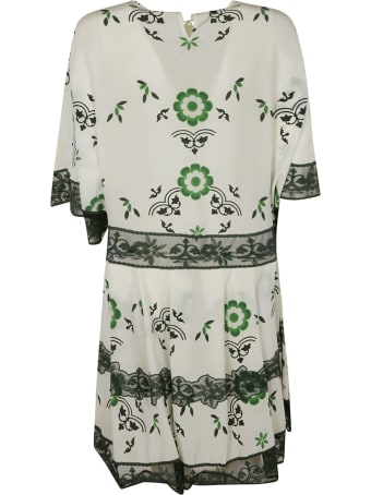 Ermanno Scervino Flower Print Dress