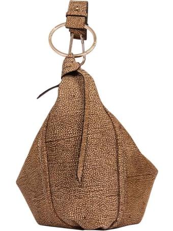Borbonese Medium Hobo Orbit Shoulder Bag