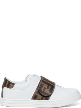 Fendi Logo Printed Slip-on Sneakers