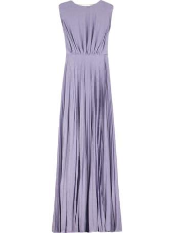 Elisabetta Franchi Celyn B. Lurex-knit Long Dress