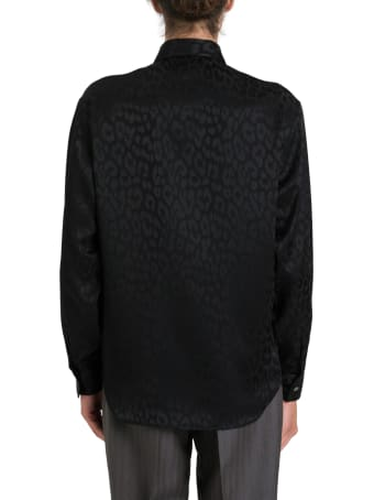 Dior Homme Jacquard Léopard Shirt